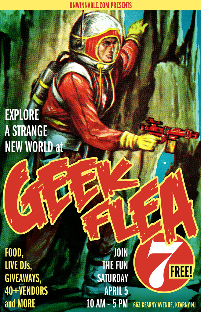Geek-Flea-7-Poster